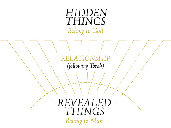 hidden things are God's and revealed things are for man